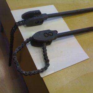 Трубный цепной ключ
