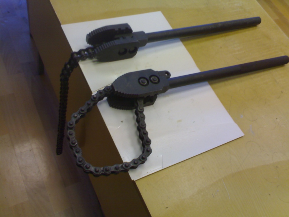 Трубний ланцюговий ключ